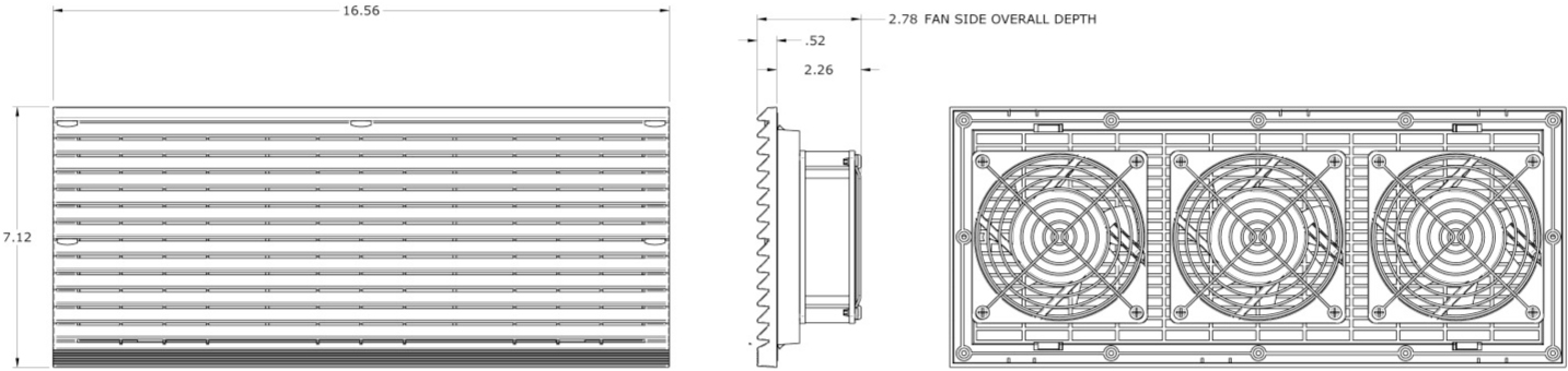 Plastic Filtered Fan Packages - PFFP390 - 390 CFM