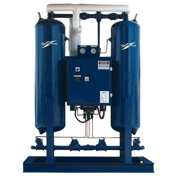Externally Heated Regenerative Compressed Air Dryer