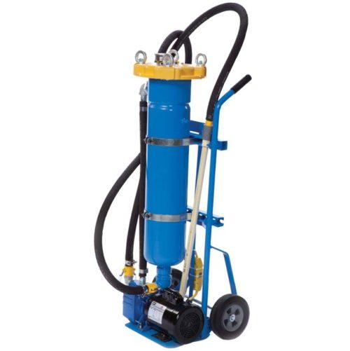 Portable liquid Filtration Flo Wash Industrial Filter Cart