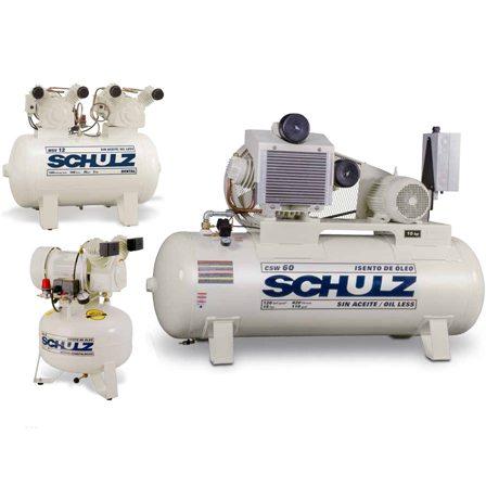 Oil Free Air Compressor >> Schulz Oil Free Air Compressor