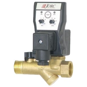 Combo Integrated Strainer Ball Condensate Drain Valve