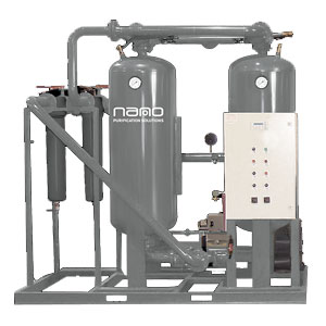 D5 Externally Heated Twin Tower Compressed Air Dryers