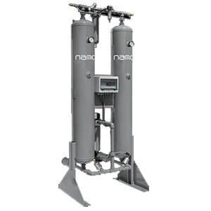 Heatless Twin Tower Compressed Air Dryer