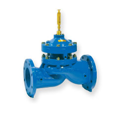 Reduced Port, Integral Back-Up, Dual Diaphragm, Automatic Control Valve 206-PGM and S206-PGMSinger
