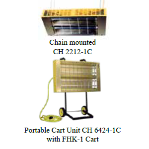 CH Series Infrared Portable Heaters