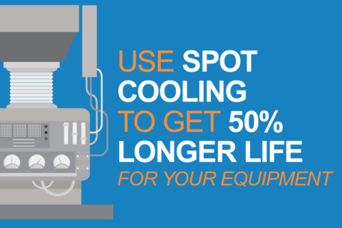 Get 50% Longer Life for Your Industrial Equipment Using Spot Cooling