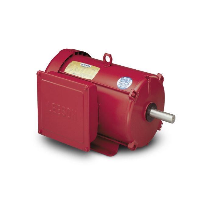 LEESON Electric Motor - 7 1/2 HP - 1740 RPM - 230V - Farm Duty AC on