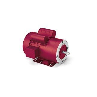 LEESON Electric Motor - 3 HP - 1740 RPM - 230V - Farm Duty AC on