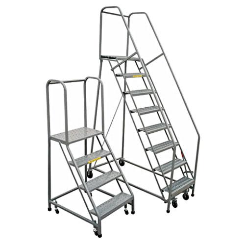 12 Step Rolling Safety Ladder