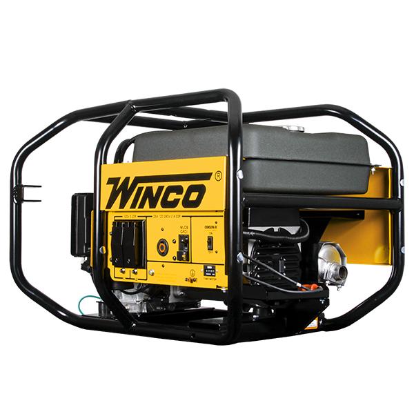 6,000-watt Portable Gas Generator, Winco WC6000HE/F, Honda GX340 Motor