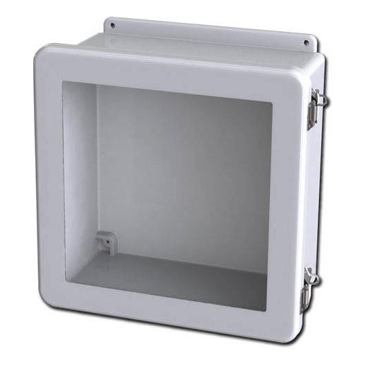 d9e05d91a36a Saginaw SCE-1212FW Fiberglass Enclosure w/Window - 13.38H x 13.38W