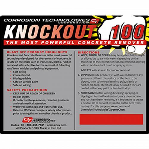330 Gallon Heavy-Duty Concrete Remover Concentrate Knockout 100