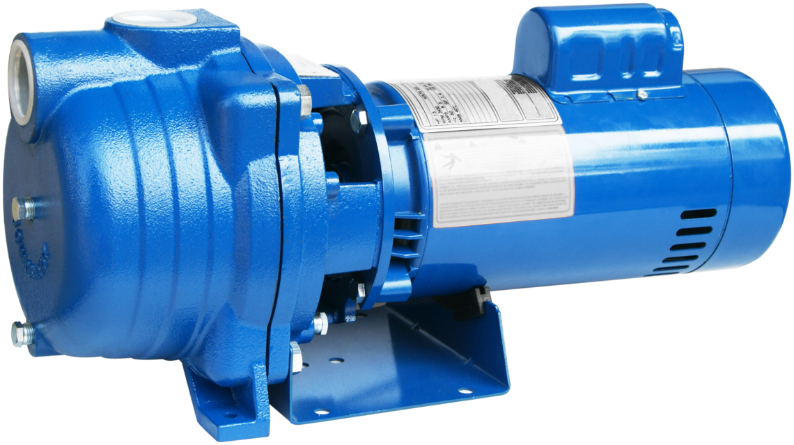 Self-Priming Centrifugal Pump - 0 75 to 2 HP - Max Lift 25
