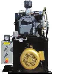 10HP, GCU Rotary Screw Compressors (Open) - Basemount (No Tank)